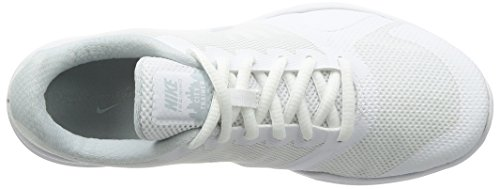 100 Nike City Damen White Trainer Laufschuhe Weiß Platinum Pure Ov8wO