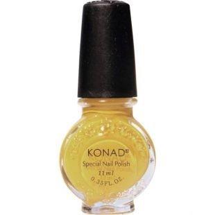 Konad Stamping Nail Art Large Special Polish - S06 Yellow by Konad
