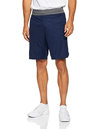 adidas Men's Accelerate 3-Stripes Shorts, Collegiate Navy/Grey Five(Blue), S(Small)
