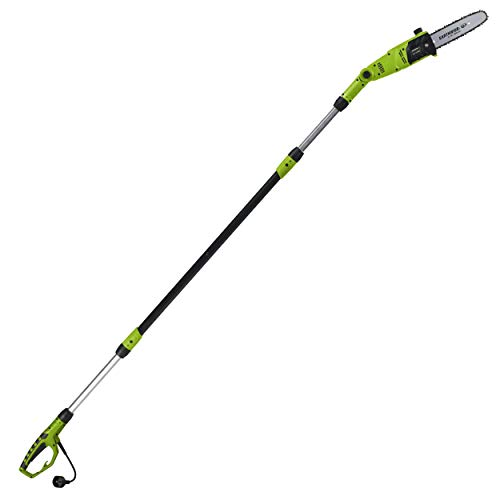 Earthwise PS44008 6.5-Amp 8-Inch Corded Electric Pole Saw, Green