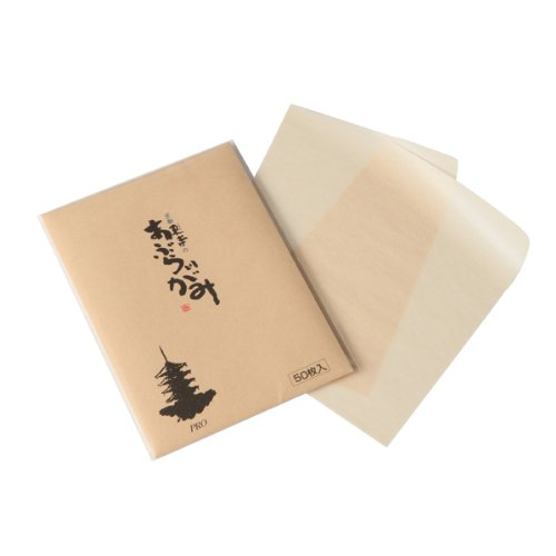 Oil Blotting Facial Paper. 50 Pieces of Fat Tricine Large Size of Kyoto Toji by Nagatoyo-do