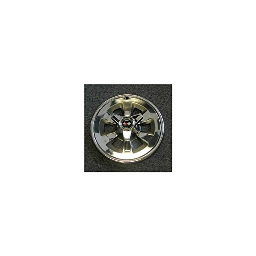 Eckler's Premier Quality Products 25-129116 Corvette Wheel Cover Assembly Set, With Spinners,