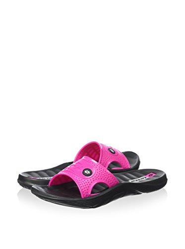 Lotto Sulu II W Badeschlappen Badelatschen Damen schwarz-pink