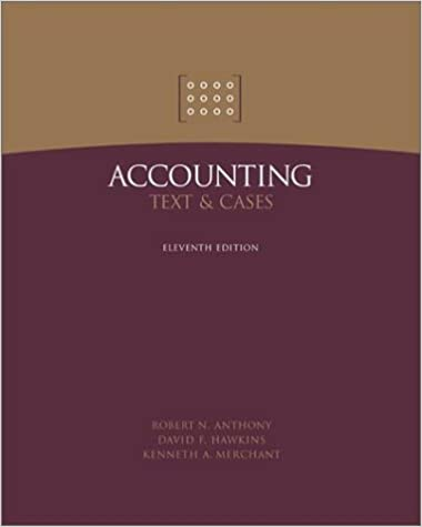 Accounting texts and cases robert n anthony david hawkins accounting texts and cases robert n anthony david hawkins kenneth merchant robert anthony 9780072819502 amazon books fandeluxe Gallery