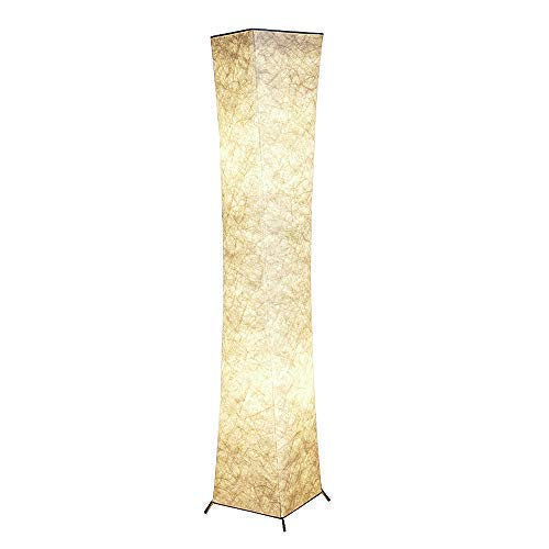 """CHIPHY H61""""W10"""" softlighting Tall Floor Lamp, 2 LED Bulbs Included, Warm Atmosphere, Minimalist Modern, Living Room, Bedroom, Office, Hotelroom.(White,L)"""