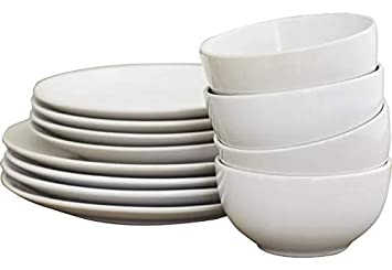 Amazon.com | Dishes Dinnerware Set - Dinnerware Set For 4 ...