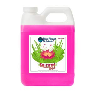 Blue Planet Nutrients Elite Bloom Quart (32 oz)   Grow Flowers, Herbs, Vegetables, Fruit   Soil Hydroponic Aeroponic Coco Coir Soil-Less   Fertilizer Plant Food for All Plants and Gardens
