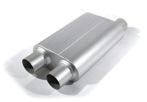 Lawson Industries 77583 INSYNERATOR High Performance Muffler for Camaro and Firebird