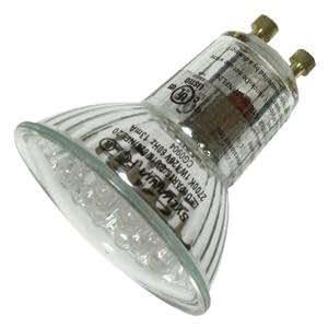 sylvania 78565 led1par16 gu10 627 nfl2 rp flood led light bulb. Black Bedroom Furniture Sets. Home Design Ideas