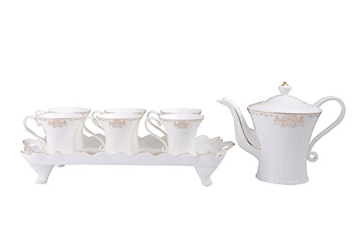 Mr.Seven tea set,water set,6 Cups,1 Kettle,1 Plate.For home.