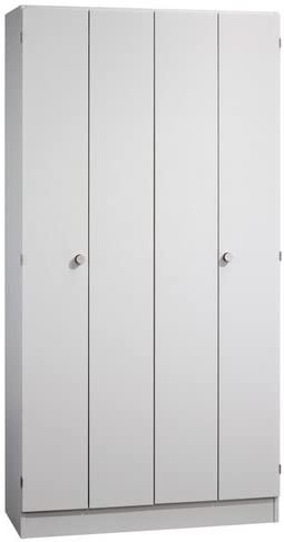 Plegable puertas correderas Solid color (Cuerpo/delantera): gris, Tipo de asa: Knauf: Amazon.es: Oficina y papelería