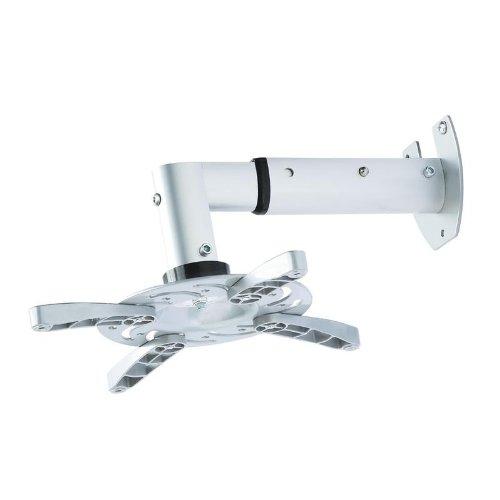 Soporte de pared para proyector, en blanco, extensible de 25,5 cm ...