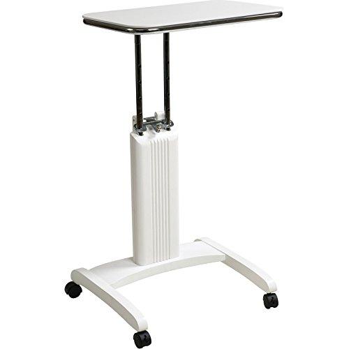 Sterken Laptop Cart in White RTM258013 by Office Star