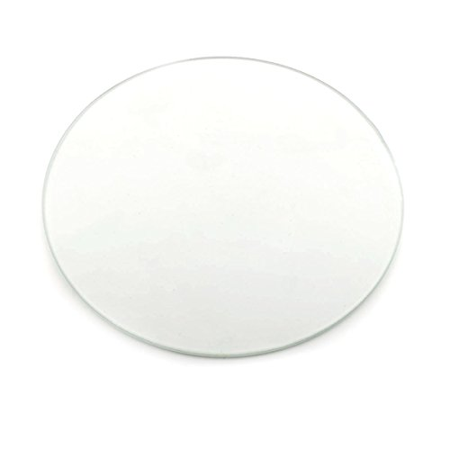 [Gulfcoast Robotics] Round Borosilicate Glass Print Surface D=200mm for RepRap 3D Printer Kossel Delta. by Gulfcoast Robotics