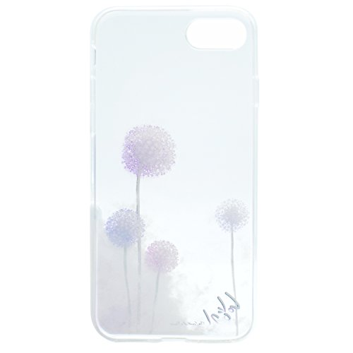 iPhone 5 5S SE Coque , Leiai Transparent Mode Pissenlit Ultra-mince Clear Silicone Doux TPU Housse Gel Etui Case Cover pour Apple iPhone 5 5S SE