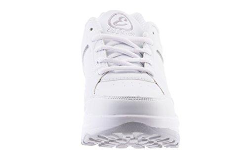Inserti new Sportive Glutei Basculan Tm Dimagranti Scarpe Silver Eglemtek Bianco Con Benessere Rassoda Fitness NnwOvm80