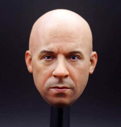 1//6 Female Head Sculpture Carving Model for Hot Toys 12/'/' Action Figure