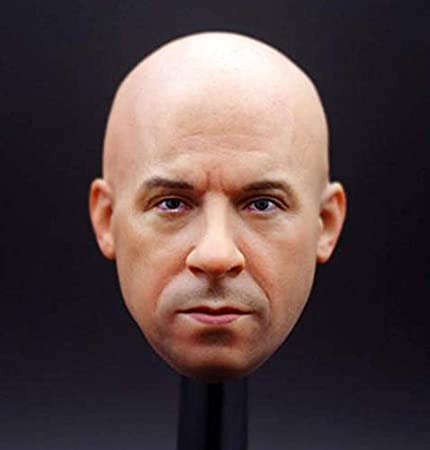 Échelle 1//6 Jouet Lone Ranger-Tonto-Mâle visage peint Head Sculpt avec Crow
