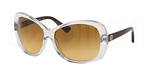Michael Kors Women's Oval Sunglaasses, Glossy Brown Tortoise/Rose, One - Sunglasses Michael Kors Of Price