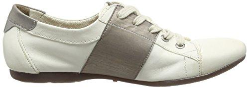 Belmondo 703329 - Zapatos Brogue con Cordones Mujer Blanco