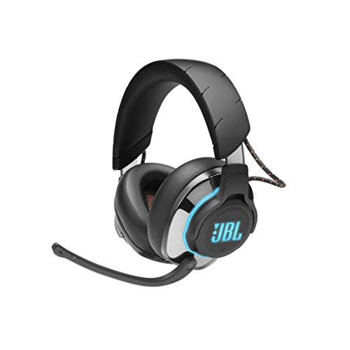 JBL Quantum 800 – Wireless Over-Ear Performance Gaming Headset with Active Noise Cancelling and Bluetooth 5.0 – Black
