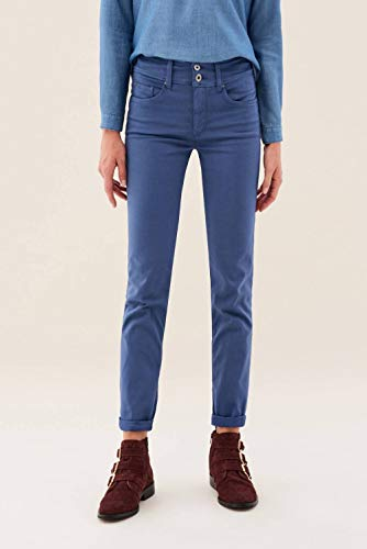 Di Azzurro Pantaloni Colore Slim Secret Salsa nYwSzqUw