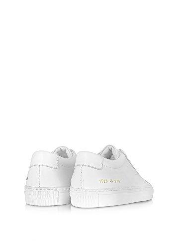 Progetti Comuni Uomini 1528050640 Sneakers In Pelle Bianca