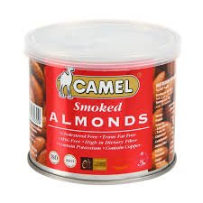 - Camel, Smoked Almonds, net weight 130 g (Pack of 1 piece)