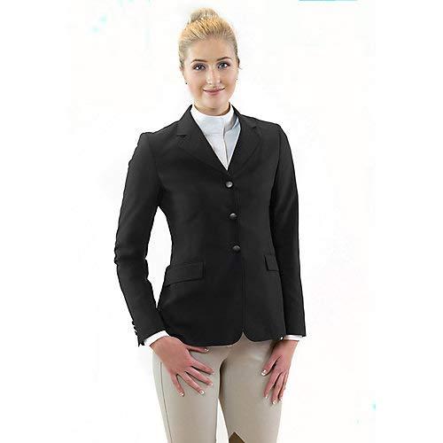 R.J. Classics Ladies Sydney Show Coat 16R Black