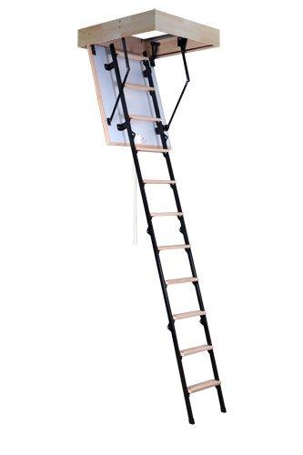 Sliding Timber Loft Ladder Mini Oman 80 X 70/Inner Memory Stairs Staircase  Attic Ladder