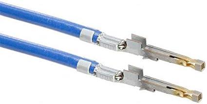 10 PRE-CRIMP 1858//19 BLUE 1722533011-10-L7-D Pack of 10