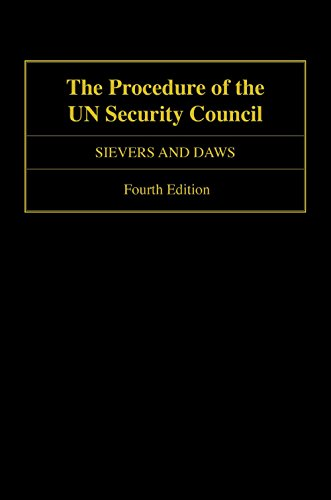 Download The Procedure of the UN Security Council Pdf