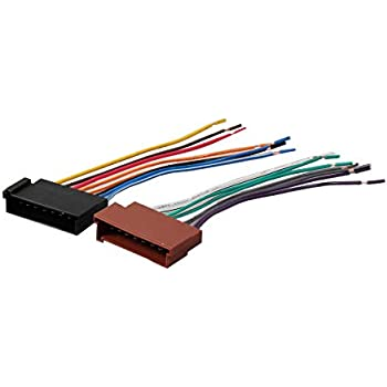 amazon com redwolf car wiring harness replace factory radio stereo Wrangler Wire Harness