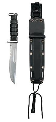 Rothco Stainless Steel Ka-Bar Style U.S.M.C Fighting Knife
