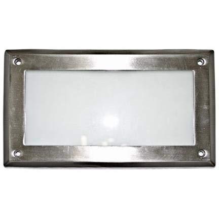 DABMAR LIGHTING DSL1005-SS304 Step Light Open Face 5 Watt PL5 120 Volts, Stainless Stain