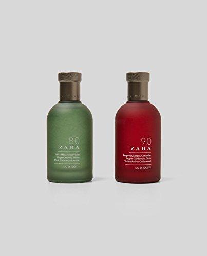 Zara 8.0 / 9.0 2X Eau De Toilette 3.4 fl. Oz by Zara