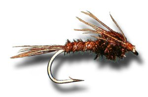 Pheasant Tail Nymph Fly Fishing Fly - Size 14 - 12 Pack