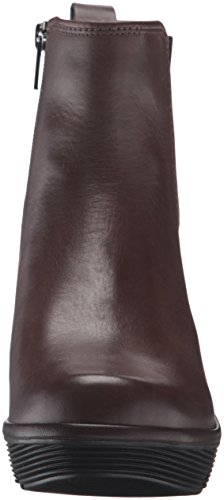 Clarks Womens Clarene Surf Boot Taupe Leather