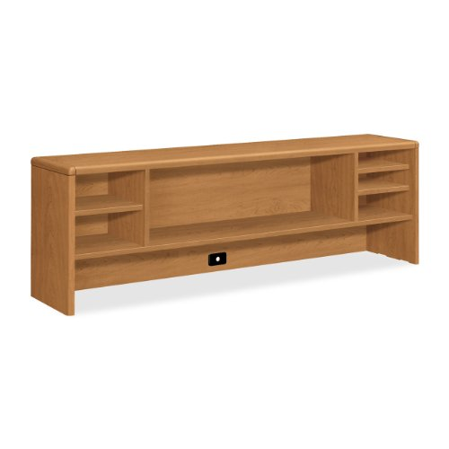 HON Left Pedestal Credenza with Lateral File, 72 by 24 by 29-1/2-Inch, Hennachy