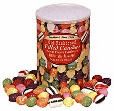 old fashion hard filled christmas candy - Christmas Hard Candy