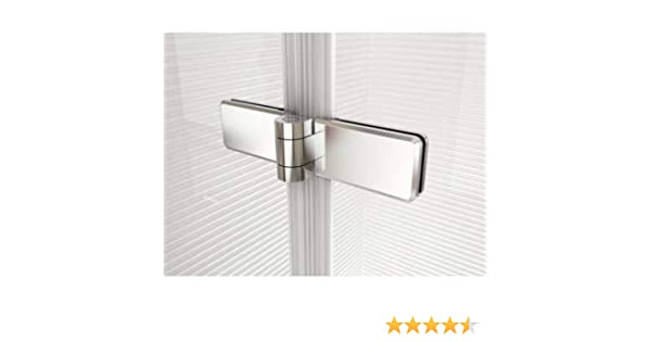 Perfil de aluminio – Soporte de pared Perfil – – Cristal bisagras ...