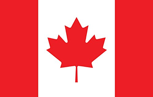 Gallopade Publishing Group Canada Flag Magnet (9780635119278)