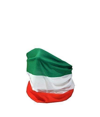 BANDERA DE Italia / Bandiera d'Italia / il Tricolor - RUFFNEK Multifuncional Sombreros Cuello calentador - Talla Única RUFFNEK®
