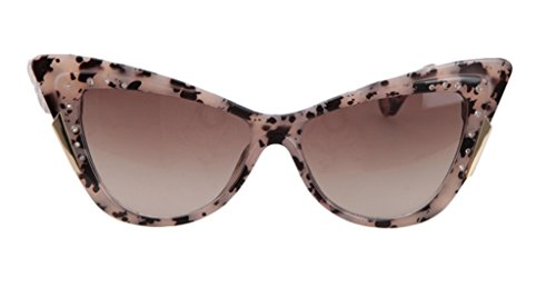 The Tidal Current Female Inlaid CZ Sunglasses Retro Cateye - D&g Official Site