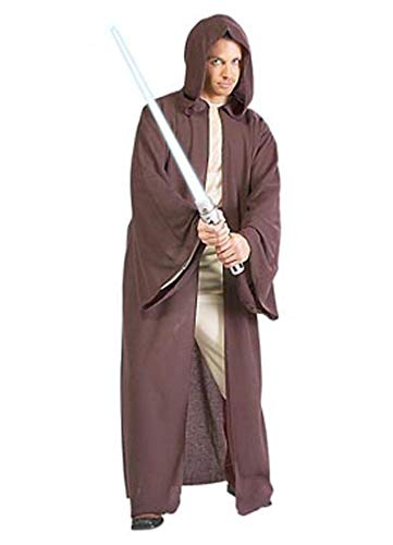 Rubie's Star Wars Adult Hooded Jedi Robe Costume, Brown, One Size Costume for $<!--$21.68-->