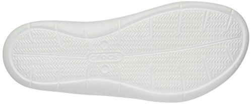 Crocs White Sandal Swiftwater Women's Graphic Water APrOAqx