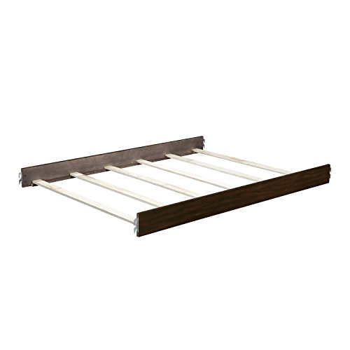 Dorel Living Bertini Baby Timber Lake Full-Size Bed Rails, Dark Walnut
