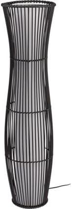 Rattan Sculpture Floor Lamp Brown at