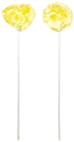 "Price comparison product image Estilo EST0144-2 Ceiling & Fan Duster - Removable & Washable,  4 Section Pole That Extendsup To 47"" (Pack of 2),"