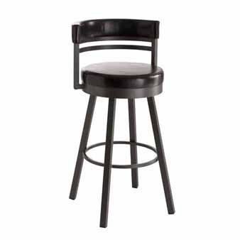 Ronny swivel stool from Amisco